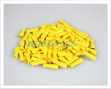 Shrouded Female Blade Terminals | Insulated Yellow Female Terminals 2.5 - 6.0mm² | 100 Pcs